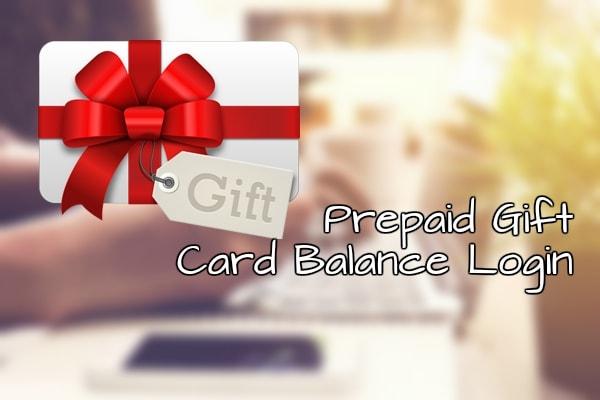 Prepaid Gift Balance